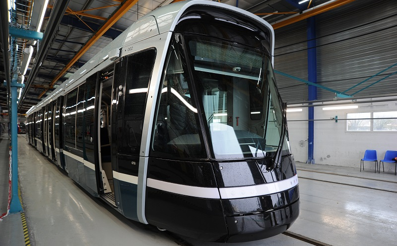 Alstoms first tramway for the City of Lusail in Qatar left