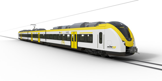 Coradia Continental electric regional trains for Baden-Württemberg