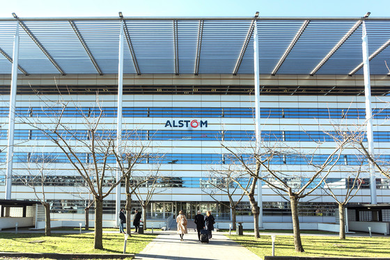Alstom headquarter HQ Saint-Ouen February 2020