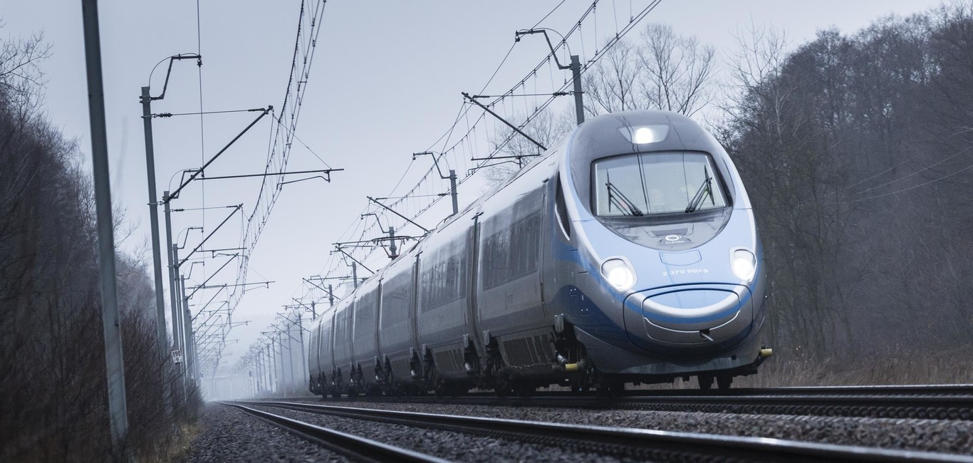Pendolino PKP speed record