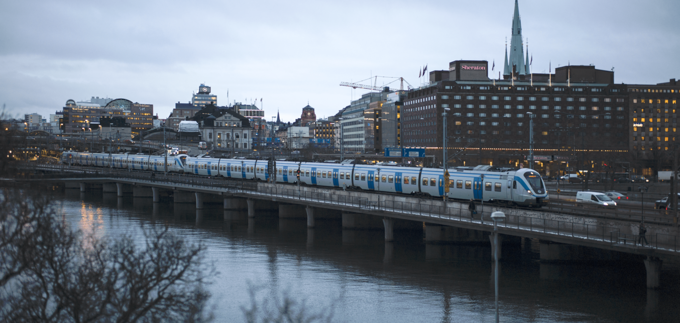 Over 320 Alstom trains in Sweden