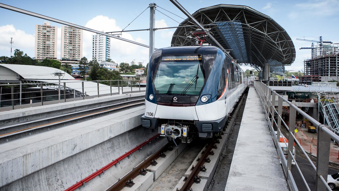 Panama Metropolis on track, Panama. | Copyright/Ownership : Alstom Transport / CAPA Pictures - Tito Herrera