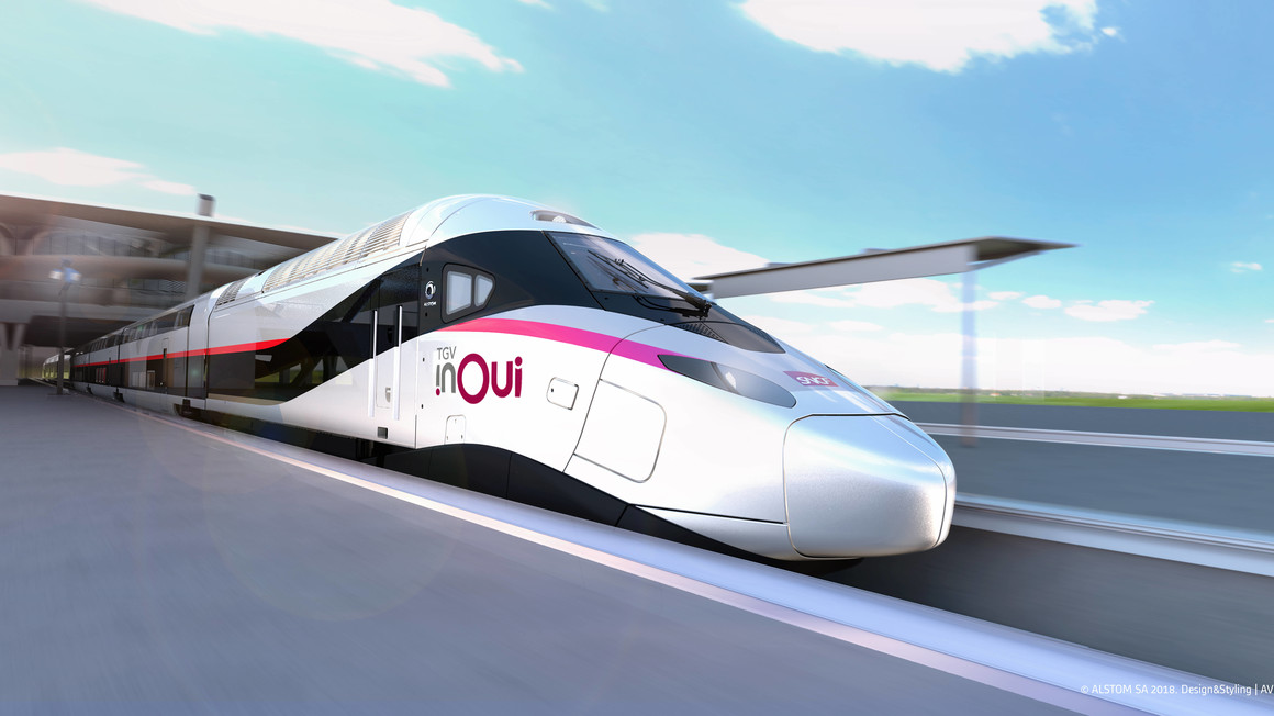 Avelia Horizon TGV Copyright: Alstom Design & Styling