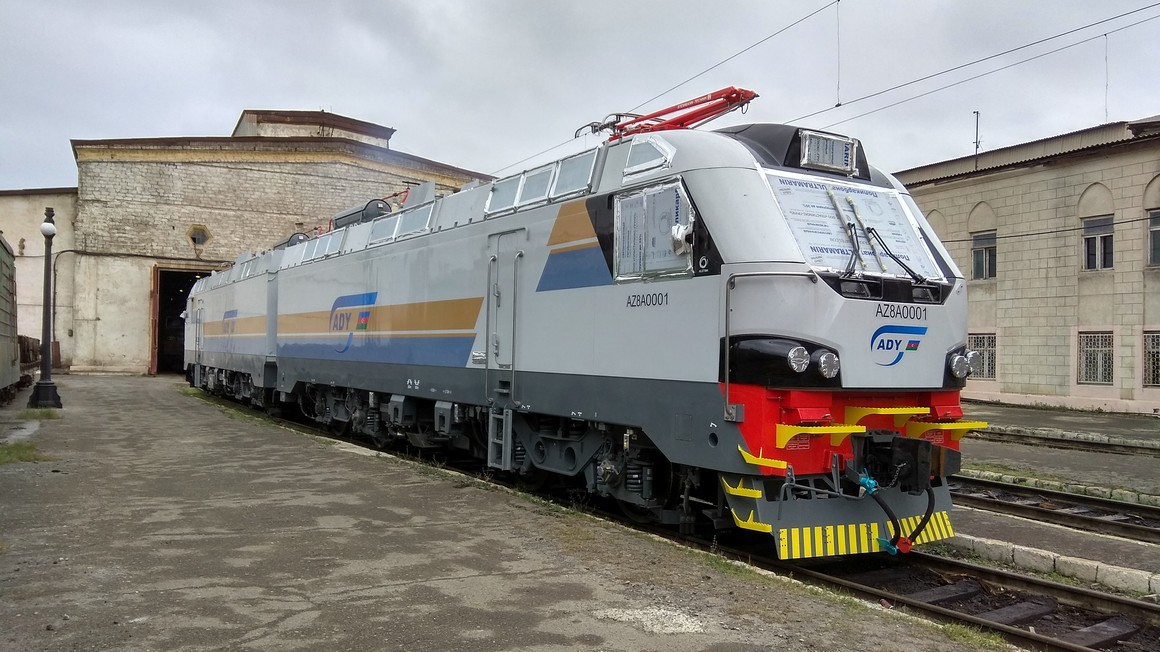 Alstom delivers the first freight locomotive to Azerbaijan