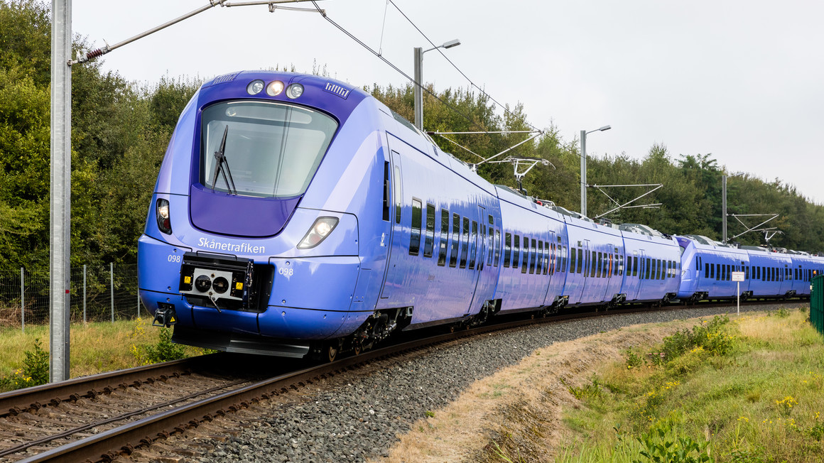 Coradia Nordic regional train for Skånetrafiken
