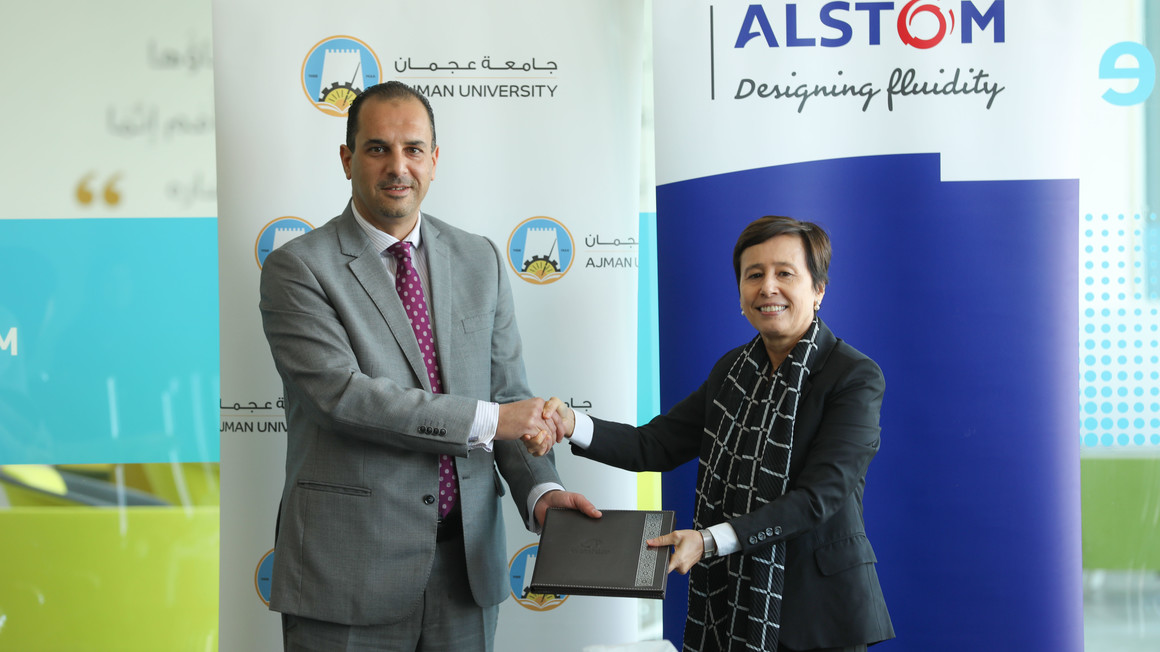 Alstom signs MOU with Ajman University