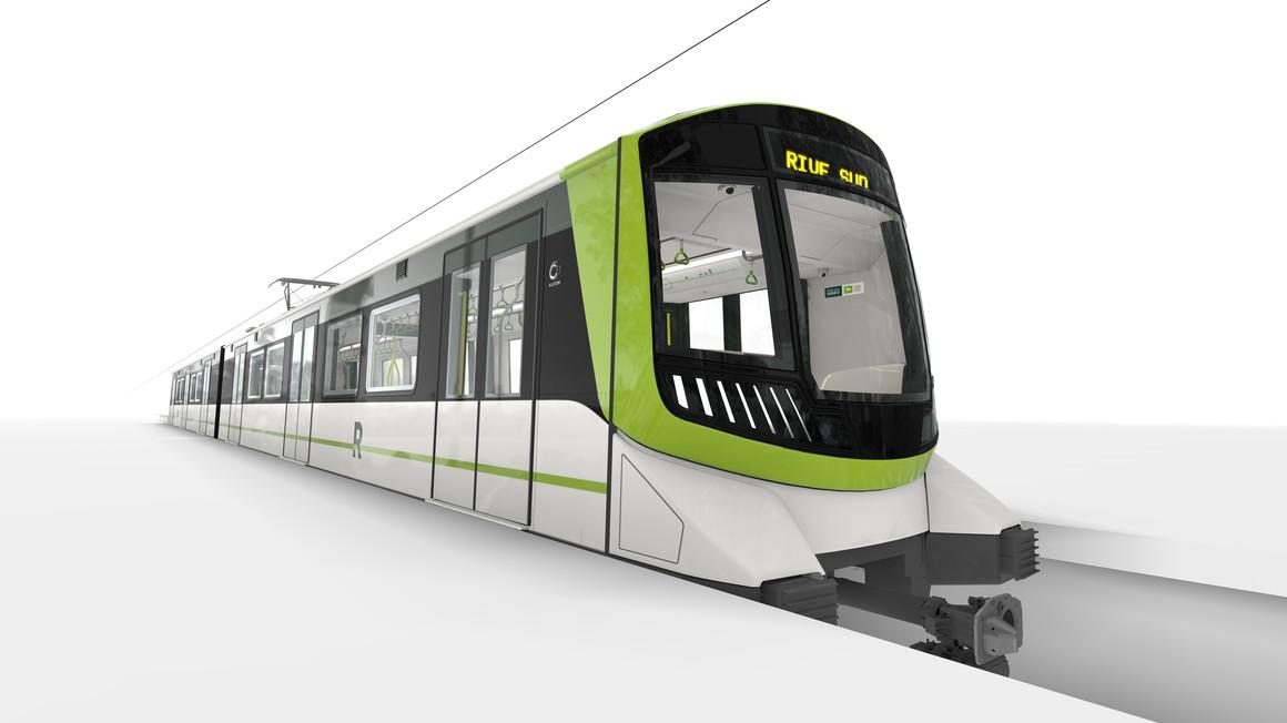 Reveal of Alstom's Metropolis vehicle for Greater Montreal's Réseau express métropolitain