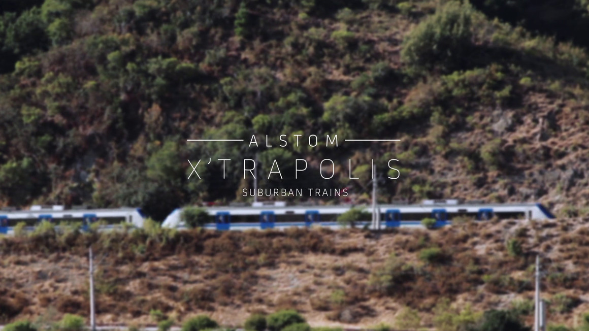Alstom X'Trapolis - video thumbnail