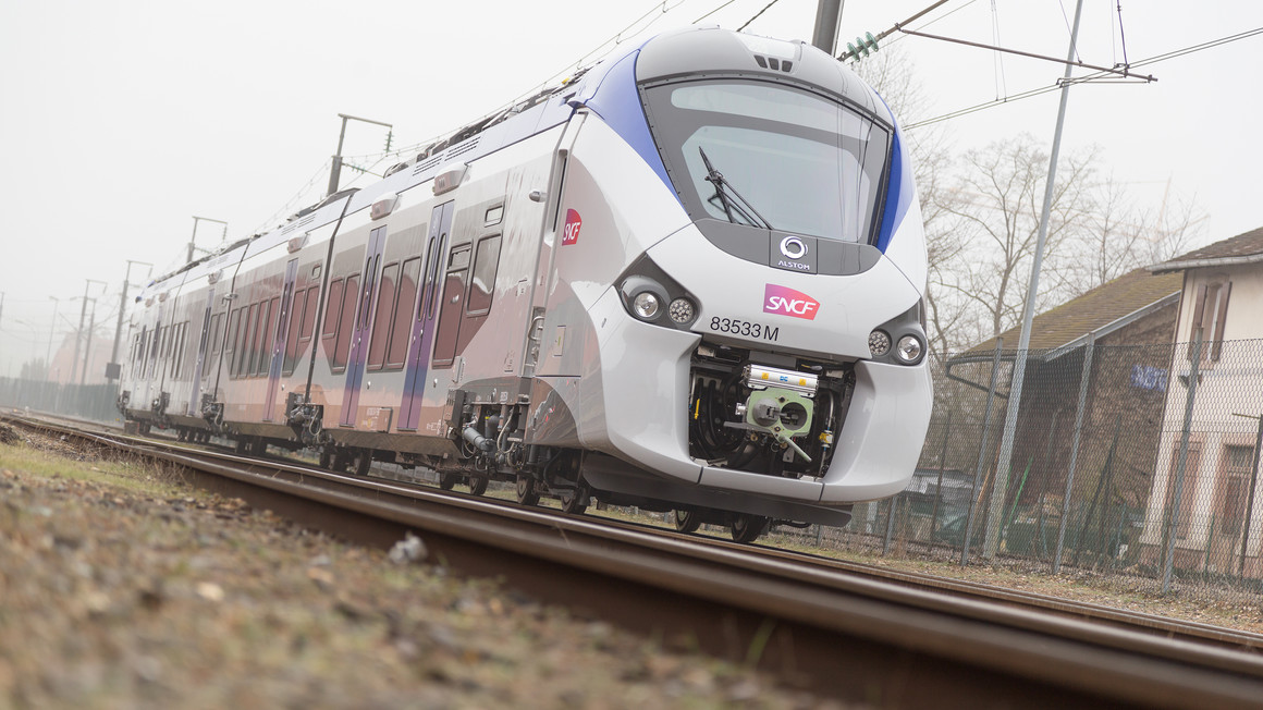 Coradia Polyvalent trains for the Occitanie region