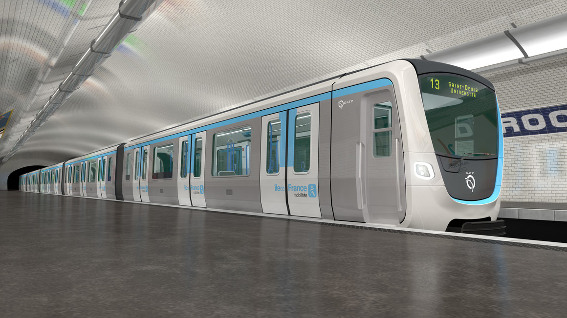 Alstom-Bombardier consortium awarded contract to renew the metros of the Île-de-France region