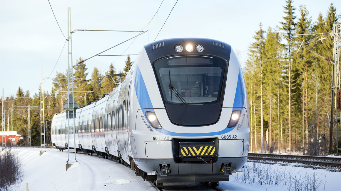 Coradia Nordic X60B in Northern Sweden