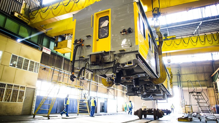 Modernisation of PRASA trains