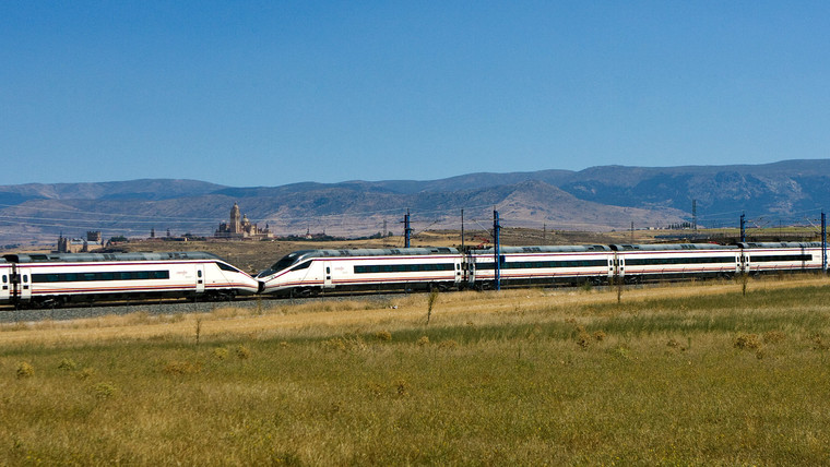 High-speed trains in Spain