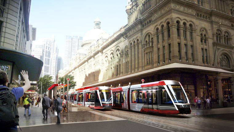 Sydney latest generation TRAM
