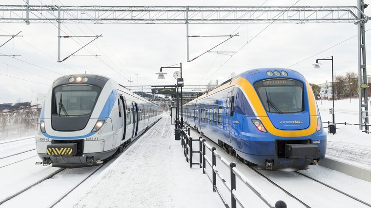 New Coradia Nordic trains