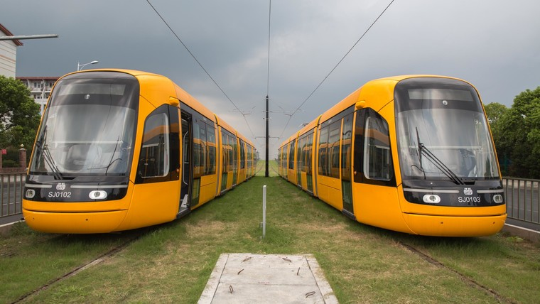 Trams for Chinese cities