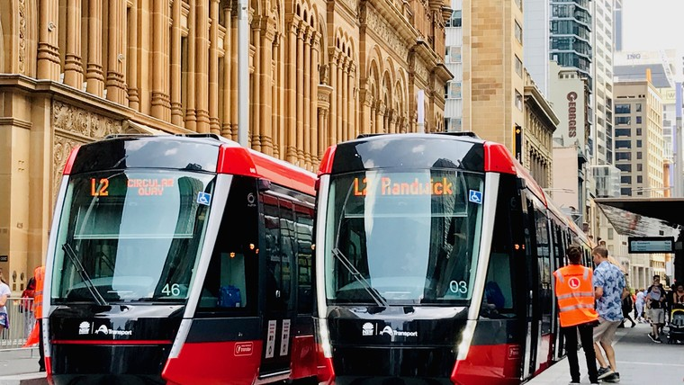 Sydney light rail system