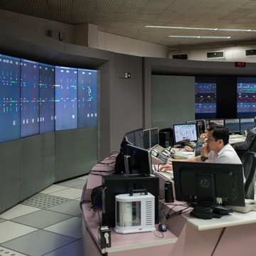 Operational Control Center of Sao Paulo metro, Brazil
