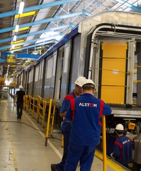 Chennai Metro Production – first train – Lapa site – Sao-Paulo - Brazil – April