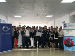 Alstom Foundation supports Agrotechnical College in Atbasar, Kazakhstan