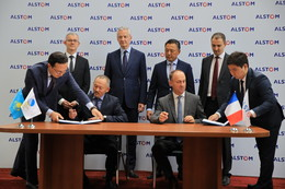 Memorandum of Understanding with Kazakhstan Railways
