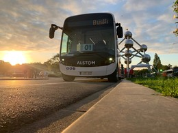 Alstom Aptis at Busworld 2019
