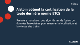 PR thumbnail Alstom obtains certification of latest ETCS standard FR