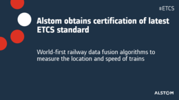 PR thumbnail Alstom obtains certification of latest ETCS standard EN