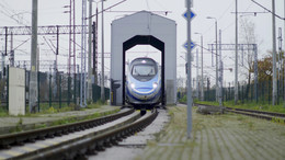 Alstom Train Scanner in Poland
