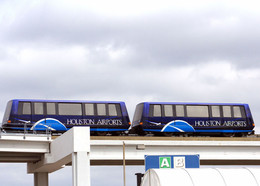 ALSTOM Innovia APM system at Houston International Airport