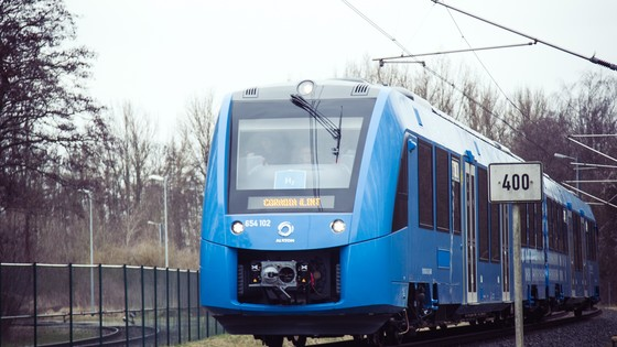 Coradia iLint-First running tests
