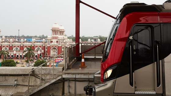 Lucknow metro train