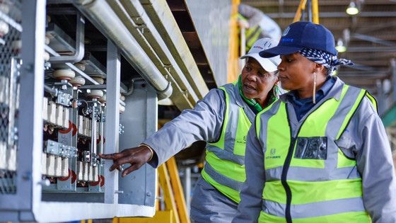 People at work – Alstom Ubunye plant - Nigel – South Africa