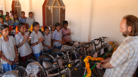 "Boosting education in India: Bicycles that change lives,"" Vicente Ferrer Foundation"