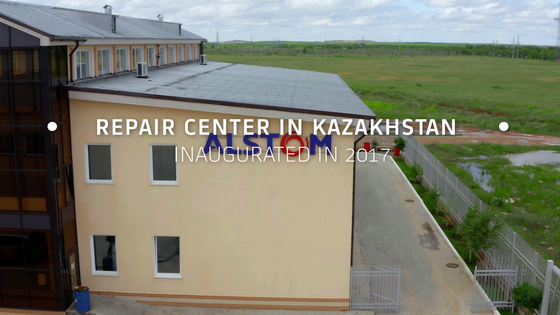 Alstom Repair Center in Kazakhstan video Thumbnail