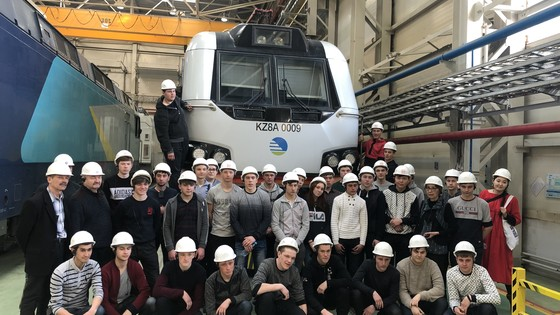 College students and teachers visit Kazakhstan