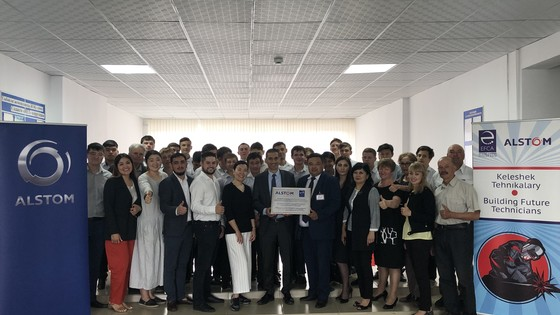 College students visit Kazakhstan