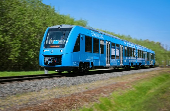 Coradia iLint tests in Germany