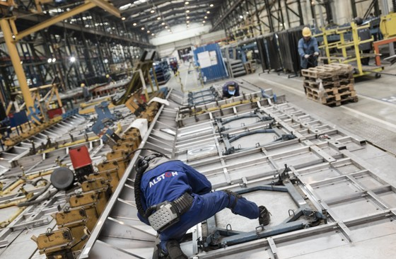 Trenitalia Coradia Meridian Manufacturing Body-shell and Welding